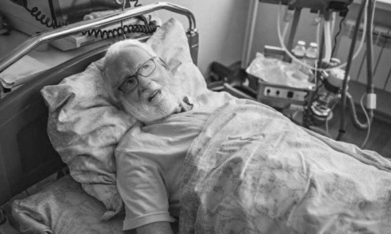 Dr Daniels in hospital